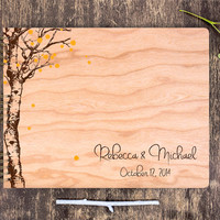 Custom Wedding Guest Book, Rustic Wedding Guest Book, Unique Wedding Guest Book, Custom Guest Book, Wood Guestbook, Personalized Guest Book
