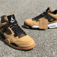 Travis Scott x Air Jordan 4 Wheat