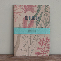 SEAWEEDS - notebooks - recycled brown cover -  SEA5015B