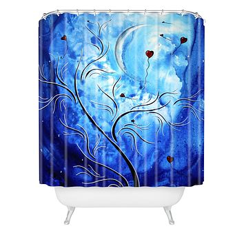 Madart Inc. Be The Light Of The Moon Shower Curtain