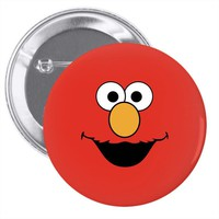 Cookie Monster Elmo Pin-back button