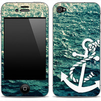 New Anchor 1 iPhone 4/4s or 5 iPod Touch 4th or 5th by DesignSkinz