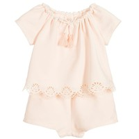 Baby Girls Fancy Onesuit (Mini-me)