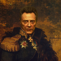 Christopher Walken - replaceface Art Print by Replaceface