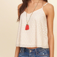 Lined Lace Cami