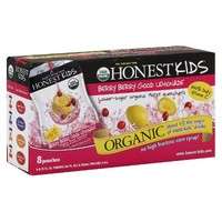 Honest Kids Berry Berry Good Lemonade Organic Juice Drinks 8 pk