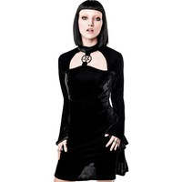 Ziva She's Evil Velvet | DRESS