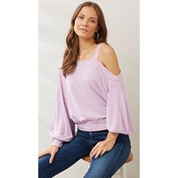 Free People Flaunt It Pullover Magical Lilac