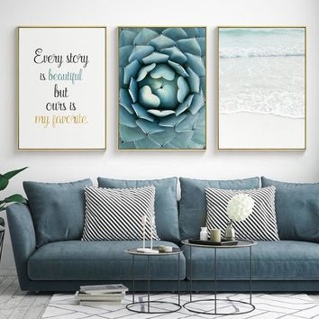 Nordic Poster Wall Art Canvas Painting Affiche Picture Posters And Prints Cuadros Quadro Wall Pictures For Living Room Unframed