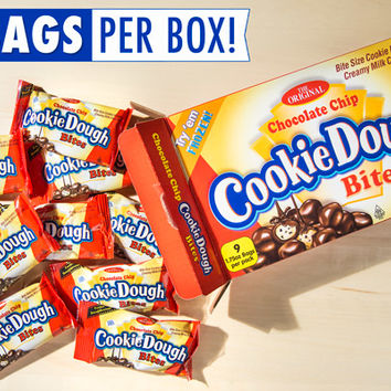 Giant Box of Cookie Dough Bites: Nearly a pound of the movie theater candy.