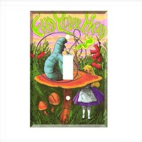 Alice In Wonderland Single Light Switch Plate Wall Cover Room Decor