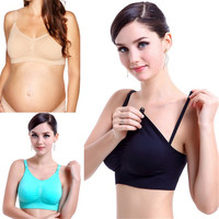 Vogue Women Padded Bra Nursing Maternity Bras Full Coverage Brassiere Tops Hot 2016