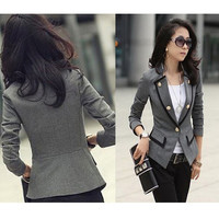 Fashion Women Suit Jacket Coat = 1783231172