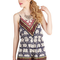 Safari Long Spaghetti Straps Fun, Two, Three, Four Romper