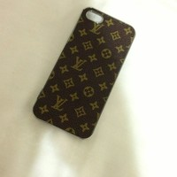 🔥INSPIRED🔥LOUIS VUITTON iPhone 5 case