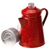 GSI Outdoors Enamelware Percolator
