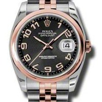 Rolex - Datejust 36mm - Steel and Pink Gold - Domed Bezel