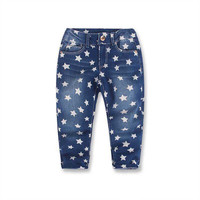 For 2-8Y Kids Jeans Boys Denim Trousers Baby Girl Jeans Autumn Winter Top Quality Casual Pants Children Clothing