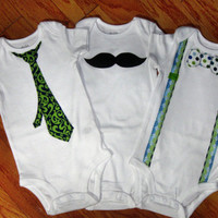 """Baby Boy Onesuit Collection """"The Ryan Collection"""""""