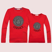VERSACE Momen Men  Casual Long Sleeve Top Sweater Pullover