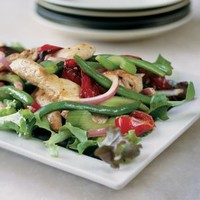 Chicken, Roasted Red Pepper and Green Bean Salad   Williams-Sonoma
