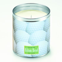 Golf Greetings Candle