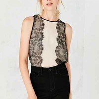 Kimchi Blue Vivian Lace Tank Top - Urban Outfitters