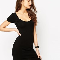 ASOS | ASOS Scoop Front and Back Bodycon Mini Dress at ASOS