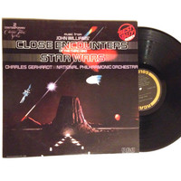OCTOBER SALE LP Album Music From Star Wars and Close Encounters Of The Third Kind Vinyl Record John Williams Charles Gerhardt Sci Fi