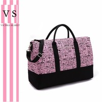 One Shoulder Canvas Gym Bags Travel Bags [12149132307]