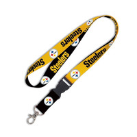 Pittsburgh Steelers NFL Team Lanyard with Detachable Buckle