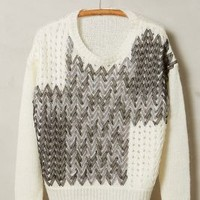Ribbon Weave Pullover