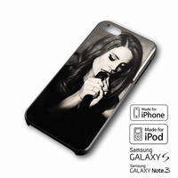 Lana Del Rey sephia iPhone case 4/4s, 5S, 5C, 6, 6 +, Samsung Galaxy case S3, S4, S5, Galaxy Note Case 2,3,4, iPod Touch case 4th, 5th, HTC One Case M7/M8
