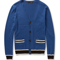 Marc by Marc Jacobs Silk, Cotton and Cashmere-Blend Cardigan | MR PORTER