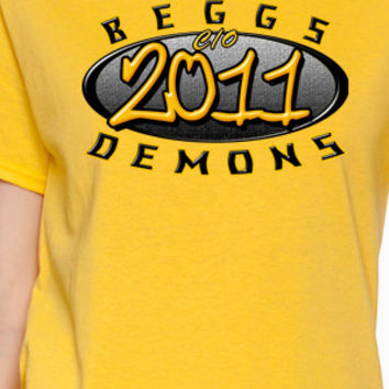 Beggs Demons Class of 20XX T-Shirt