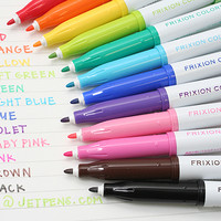 JetPens.com - Pilot FriXion Colors Erasable Marker - 12 Color Set