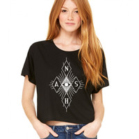 Nash Grier Eye Diamond Flowy Tee - BLV Brands