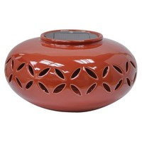 Threshold™ Ceramic Solar Lantern - Oval