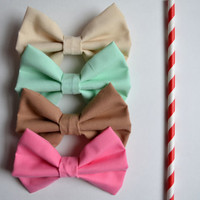 NEW. Milkshake Hair Bow Collection.