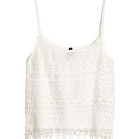 H&M - Lace Camisole Top