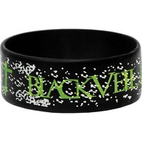 Black Veil Brides Men's No Gods Rubber Bracelet Black