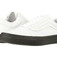 VANS Black Outsole Old Skool Unisex | True White (8G1OB4)