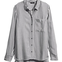 Striped Blouse - from H&M