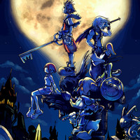 Kingdom Hearts video game poster