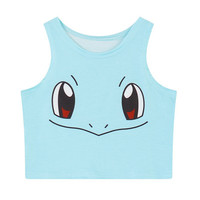 SQUIRTLE CROP TOP