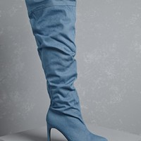 Slouchy Over-the-Knee Boots
