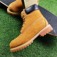 Best Online Sale Timberland Wool Waterproof Soft Toe Boots Wheat/Black Color