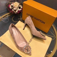 DCCK Louis Vuitton LV Women Fashion Pointed Toe High Heels Shoes 36-39
