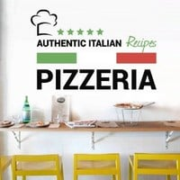 Full Color Wall Decal Pizza Italian Restaurant Pizzeria Signboard Cafe Mcol29