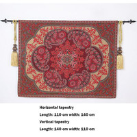 140  * 110cm  high cloth art tapestries Exquisite household wall decoration National characteristic wall carpet The Persian rug